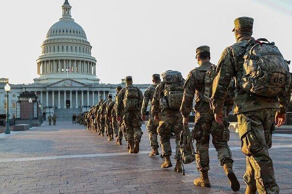 200 نظامی آمریکایی در مراسم تحلیف بایدن به کرونا مبتلا شدند