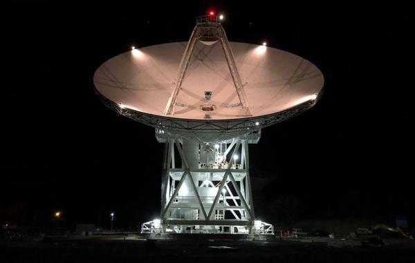 یک دیش غول پیکر تازه به شبکه فضای دوردست ناسا اضافه شد