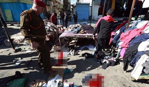 قربانیان انفجارهای انتحاری بغداد به 32 نفر افزایش یافت