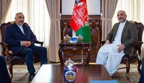 گفت وگوی نماینده ویژه ایران در امور افغانستان با حنیف اتمر