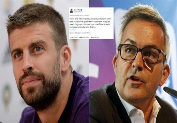 پیکه خطاب به نامزد انتخابات ریاست باشگاه بارسلونا: از تصویر من برای منافع خودت استفاده نکن!