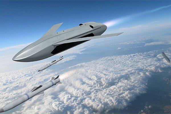 فراوری پهپاد موشکی با قابلیت پرتاب از ارتفاع بالا