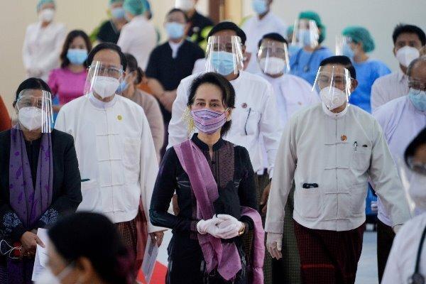 پلیس میانمار علیه سوچی اعلام جرم کرد
