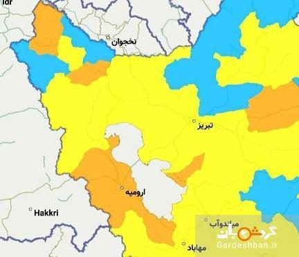 شهر های ممنوعه استان آذربایجان غربی برای سفر نوروزی 1400