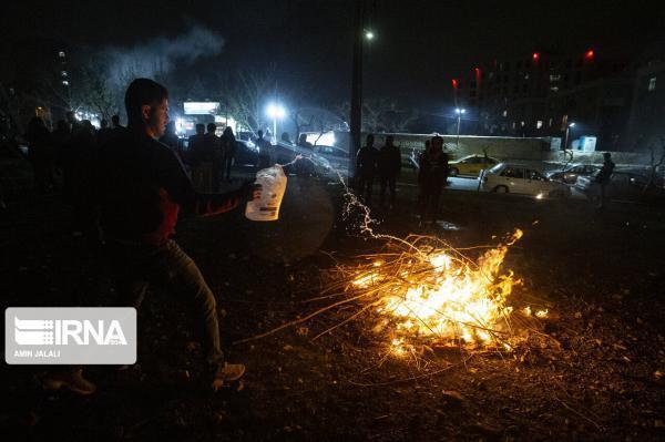 خبرنگاران چهارشنبه سوری در گیلان 68 مصدوم بر جا گذاشت