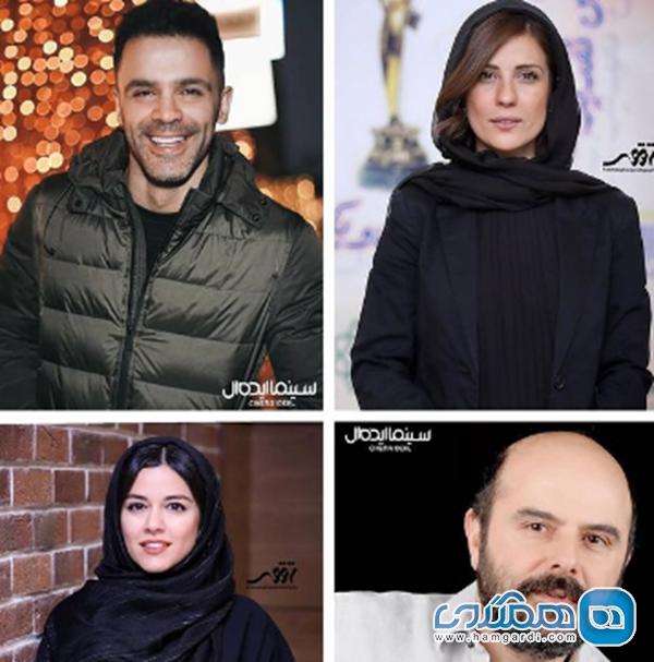 سیروان خسروی با علی مصفا و سارا بهرامی همبازی شد