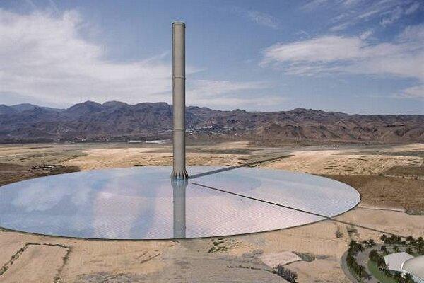 نیروگاه ترکیبی دودکش خورشیدی با گاز فلر ثبت اختراع شد