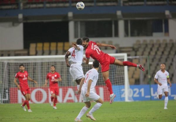 لیگ قهرمانان آسیا، شکست یک نیمه ای پرسپولیس مقابل الریان