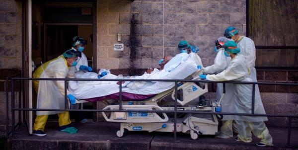 جانز هاپکینز: تلفات کرونا در آمریکا به 585 هزار نفر رسید