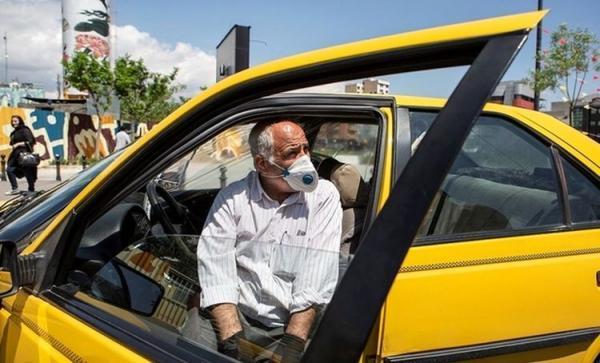 فوت بیش از 400 راننده تاکسی بر اثر کرونا در تهران