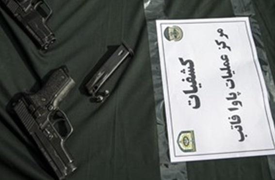 انهدام 3 باند سلاح های جنگی آمریکایی در تهران
