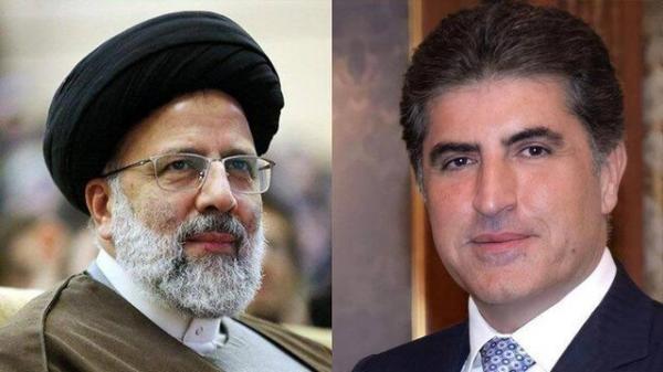 تبریک رئیس اقلیم کردستان عراق به رئیسی