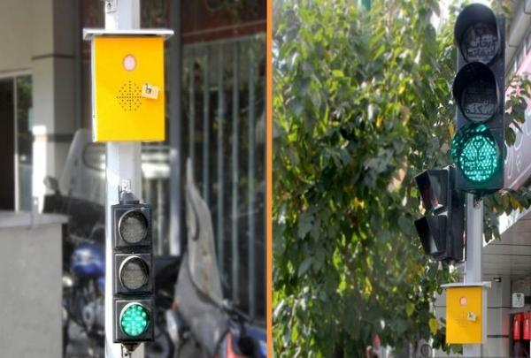تجهیز 20 تقاطع هوشمند شهر به سیستم آلارم صوتی چراغ عابرپیاده ویژه روشندلان تا انتهای تیر ماه
